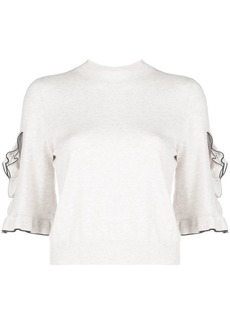 See by Chloé ruffled jumper