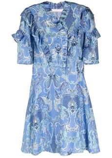 See by Chloé ruffled mini dress