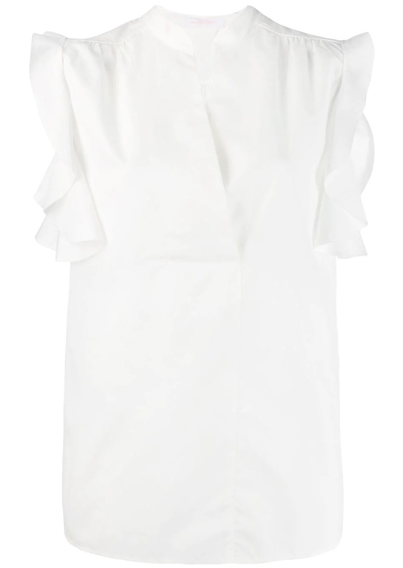 See by Chloé ruffled sleeve blouse