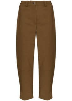 See by Chloé high waisted wide leg trousers