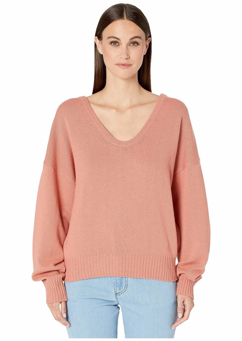 See by Chloé Scoop Neck Long Sleeve Sweater