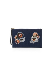 See by Chloé Andy Patch Denim Pouch