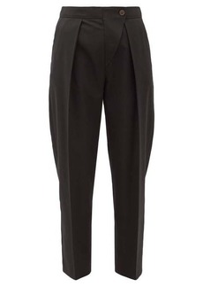 See By Chloé Asymmetric high-rise twill trousers