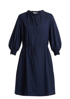 See By Chloé Broderie-anglaise cotton dress