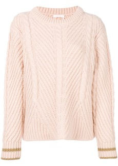 See By Chloé cable knit sweater - Unavailable
