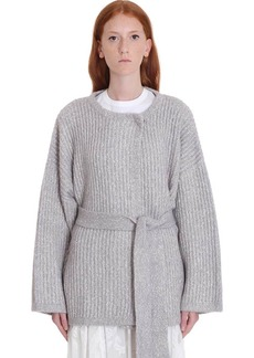See by Chloé Cardigan In Grey Wool