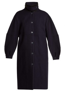 See By Chloé City wool-blend overcoat