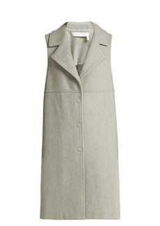 See By Chloé City wool-blend sleeveless coat