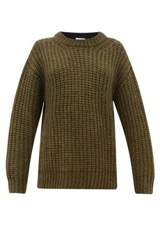 See By Chloé Colour-block dropped-sleeve sweater
