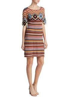 See by Chloé Crochet Knit Sheath Dress