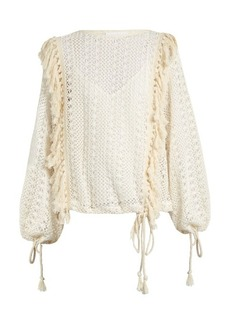 See By Chloé Crochet-lace top