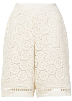 See By Chloé crochet shorts - White