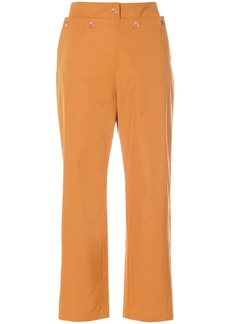 See By Chloé cropped sailor trousers - Brown