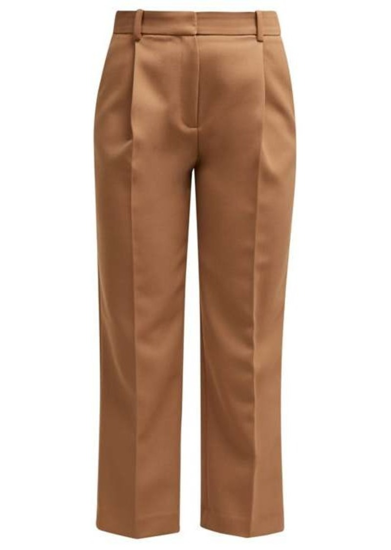 See By Chloé Cropped tricotine trousers