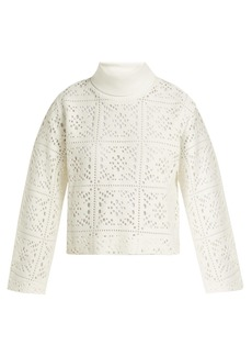 See By Chloé Cut-out knit sweater