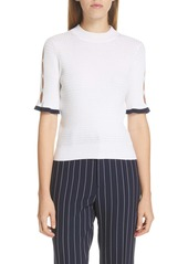 See by Chloé Cutout Pointelle Sweater