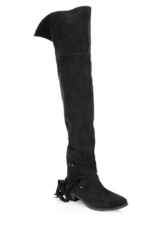 See by Chloé Dasha Over-The-Knee Suede Boots