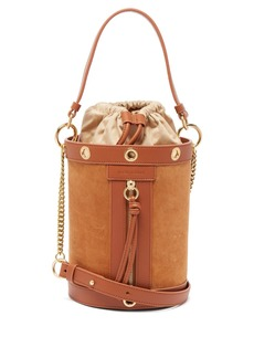 See By Chloé Debbie suede and leather bucket bag