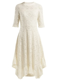 See By Chloé Dipped-hem lace dress