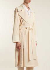 964ca411d6 See by Chloé See By Chloé Double-breasted tie-waist trench coat ...