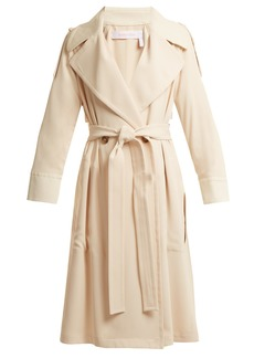 See By Chloé Double-breasted tie-waist trench coat