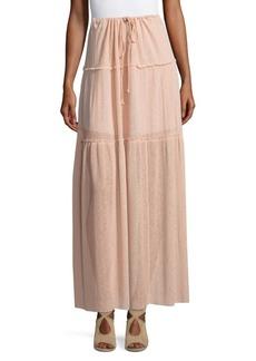 See by Chloé Drawstring Maxi Skirt