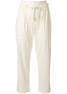 See By Chloé drawstring waist trousers - White