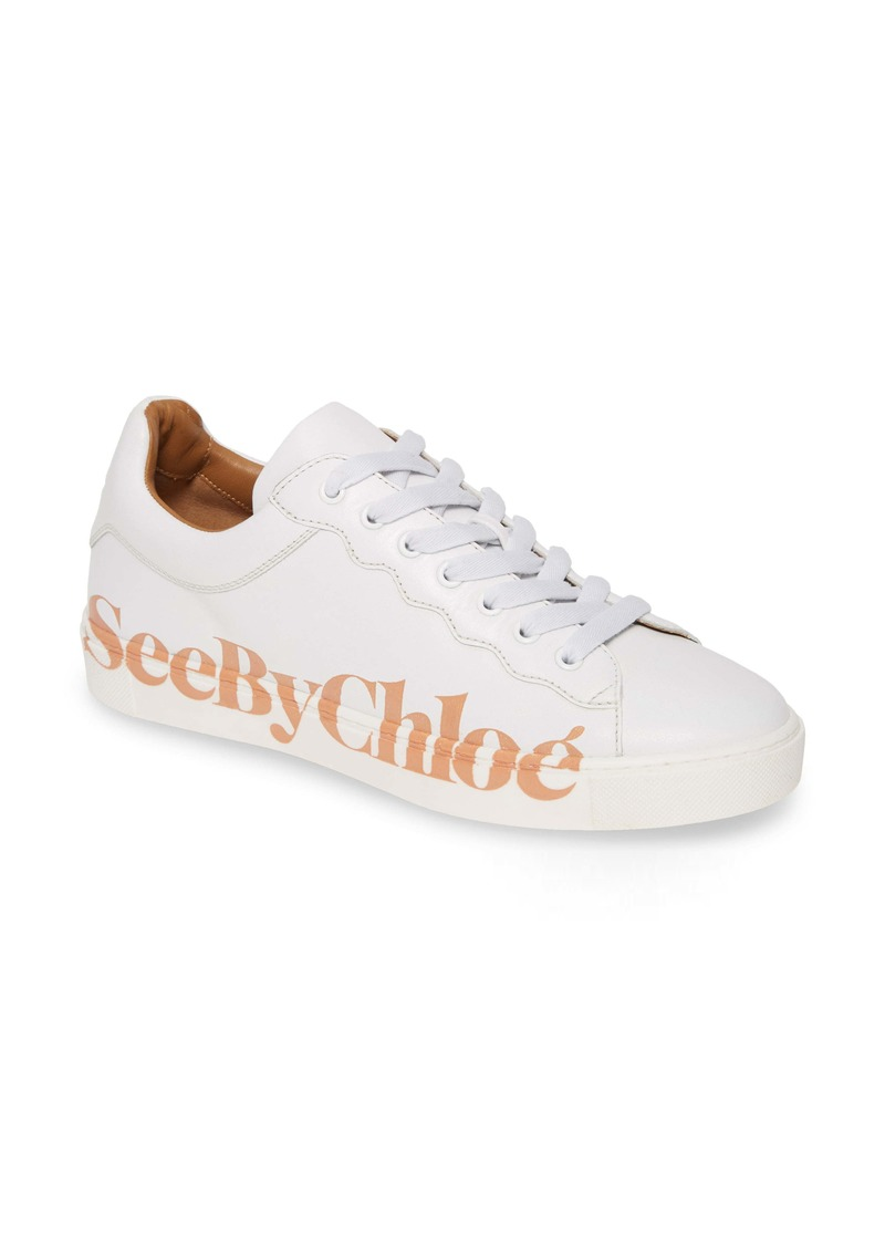 See by Chloé Essie Logo Low Top Sneaker (Women)
