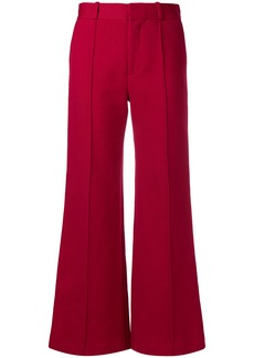 See By Chloé flared high-waisted trousers