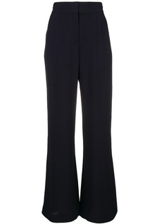 See By Chloé flared tailored trousers - Blue