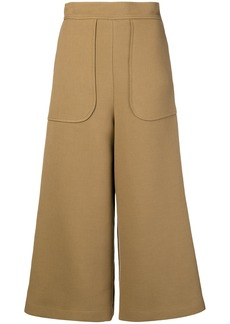 See By Chloé flared tailored trousers - Brown
