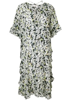 See By Chloé floral tied neck dress - Multicolour