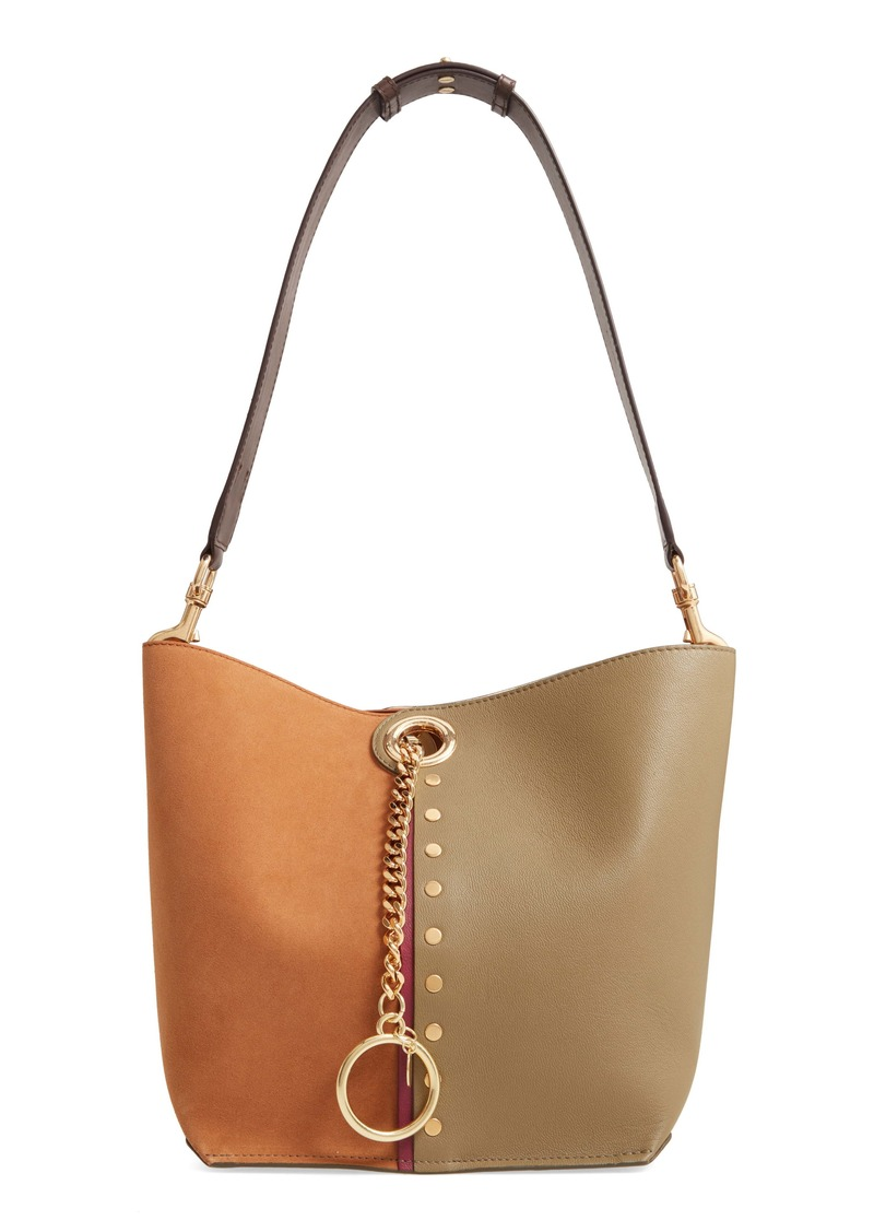 See by Chloé Gaia Leather Shoulder Bag