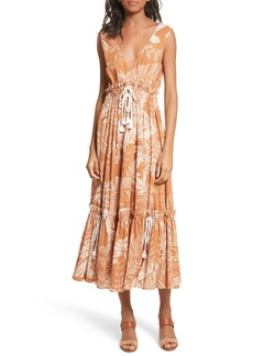 See by Chloé Gathered Tier Dress