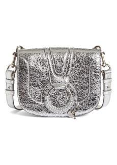 See by Chloé Hana Small Metallic Leather Crossbody Bag