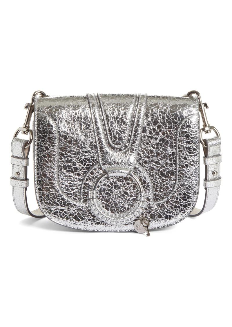 choose best best place reliable reputation Hana Small Metallic Leather Crossbody Bag