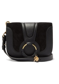 See By Chloé Hana small suede and leather cross-body bag