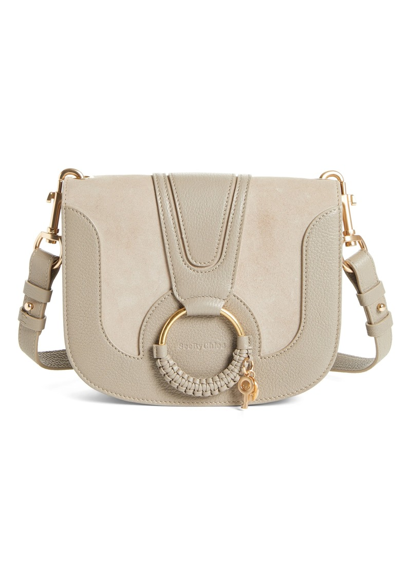 See by Chloé Hana Suede & Leather Shoulder Bag