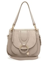 See By Chloé Hana suede and leather satchel cross-body bag