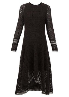 See By Chloé Handkerchief-hem crochet dress