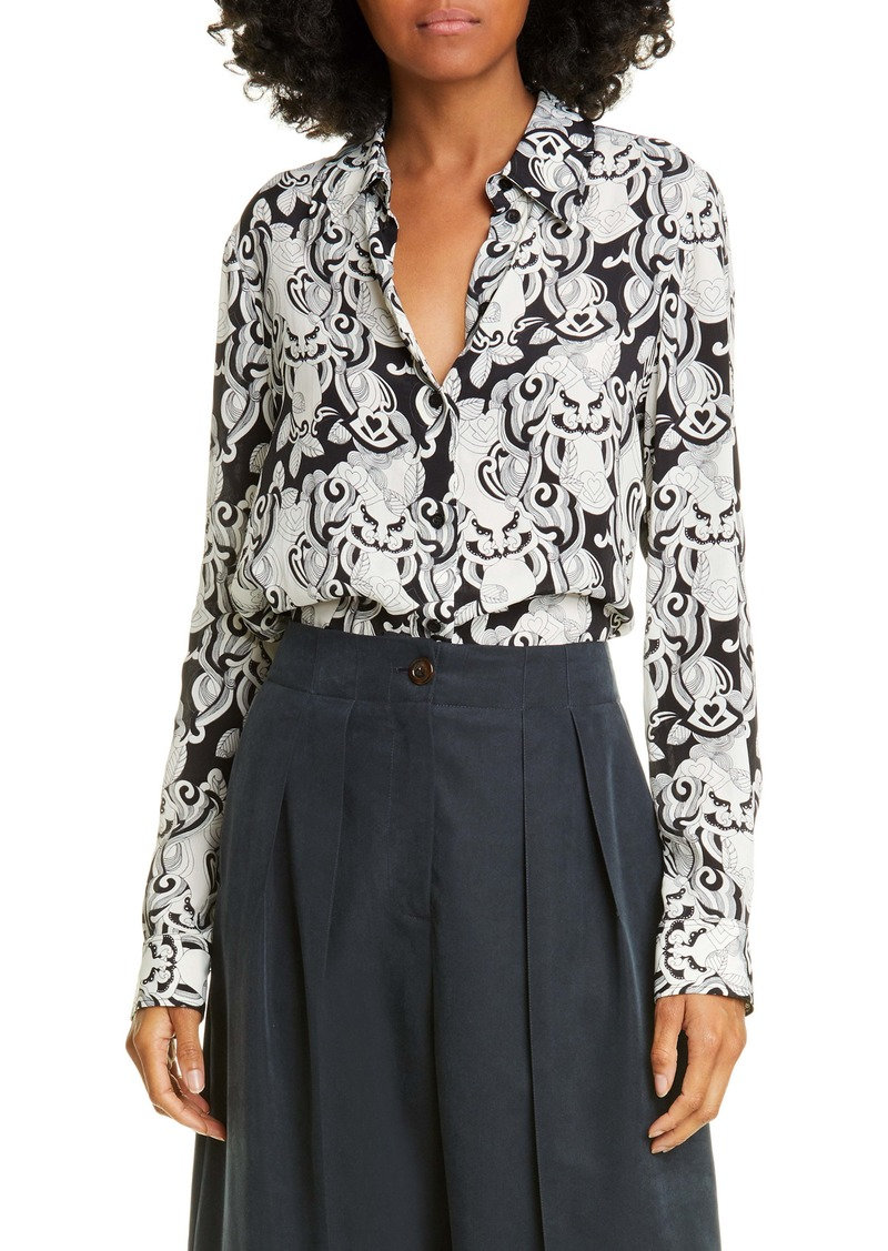 See by Chloé Her Graphic Print Shirt