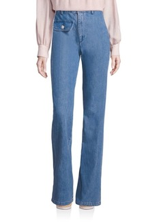 See by Chloé High-Waist Flared Jeans