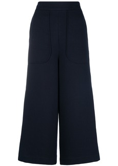 See By Chloé high-waisted cropped trousers - Blue