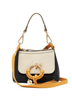 See By Chloé Joan colour-block mini leather cross-body bag