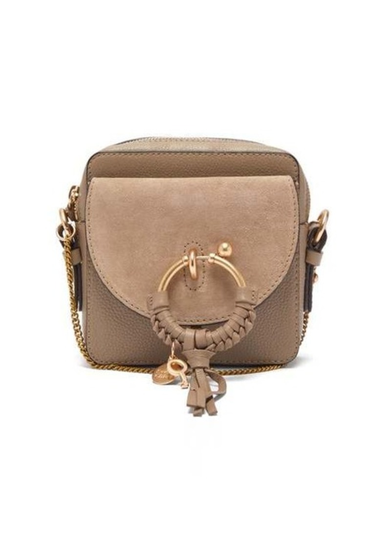 See By Chloé Joan mini square leather cross-body bag