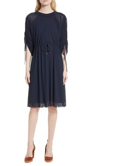 See by Chloé Knit Raglan Dress