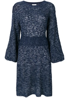 See By Chloé knitted midi dress - Blue
