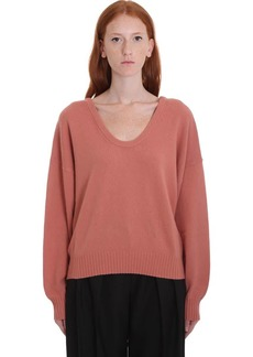 See by Chloé Knitwear In Rose-pink Wool
