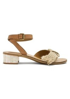 See By Chloé Knot-detail leather sandals
