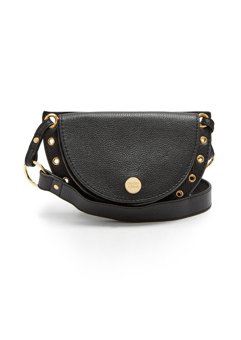 See By Chloé Kriss grained-leather belt bag